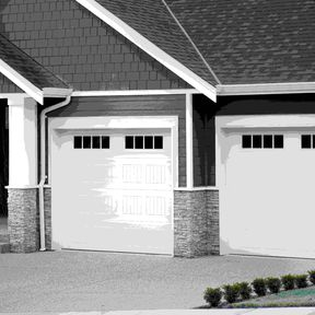 Carriage Craft garage door -9